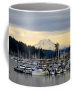 View Of Mt. Rainier From Gig Harbor Wa Coffee Mug