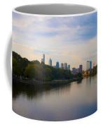 View Of Philadelphia From The Girard Avenue Bridge Coffee Mug by Bill Cannon