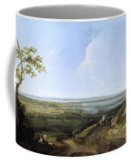 View Of Portsmouth From Portsdown Hill Coffee Mug