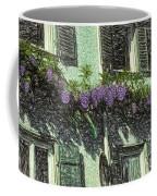 View Of Purple Coffee Mug