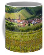 View Of Rodern From The Vineyards Of Alsace Coffee Mug