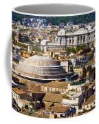 View Of Rome's Rooftops Coffee Mug
