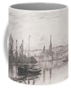 View Of Rouen Coffee Mug