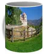 View Of Santa Barbara Mission Coffee Mug
