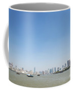 View Of Shanghai River In China Coffee Mug