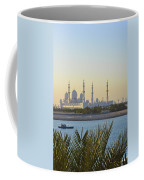 View Of Sheikh Zayed Grand Mosque Coffee Mug