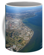 View Of Tampa Harbor Before Landing Coffee Mug