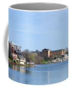 View Of The Art Museum And Waterworks In Philadelphia Coffee Mug