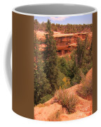 View Of The Cliffs From The Cliff Coffee Mug