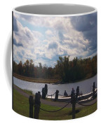 View Of The Creek From Catskill Point Coffee Mug