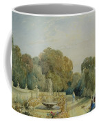 View Of The Gardens At Chatsworth Coffee Mug