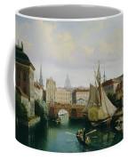 View Of The Riddarholmskanalen Coffee Mug