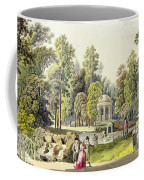 View Of The Temple Of Diana At Erlaw Coffee Mug