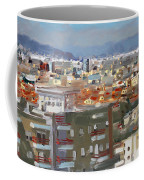 View Of Tirana From Dajti Mountain Coffee Mug