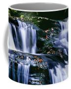 View Of Waterfall, Inversnaid Falls Coffee Mug