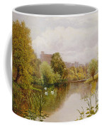 View Of Windsor From The Thames Coffee Mug by John Atkinson