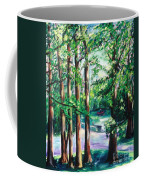 View Of Woodside Lake Coffee Mug