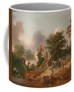 View On The Medway Coffee Mug