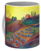 View On The Olive Grove Coffee Mug
