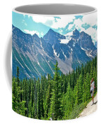 View On Trail To Lake Agnes In Banff Np-alberta Coffee Mug