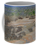 View One From Matekenyane In Kruger National Park-south Africa Coffee Mug