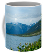 View One Kluane Lake From Cottonwood Campground Near Destruction Bay-yk   Coffee Mug