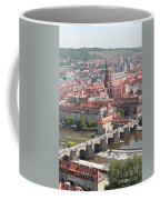 View Onto The Town Of Wuerzburg - Germany Coffee Mug
