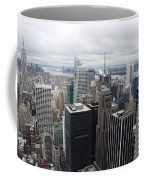 View Over Manhattan  Coffee Mug