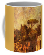 View Over The Forum In Rome Coffee Mug