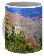 View Seven From Walhalla Overlook On North Rim Of Grand Canyon-arizona Coffee Mug