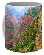 View Six From Walhalla Overlook On North Rim Of Grand Canyon-arizona Coffee Mug