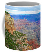 View Three From Walhalla Overlook On North Rim Of Grand Canyon-arizona  Coffee Mug