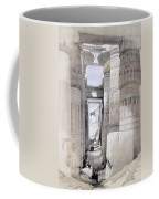 View Through The Hall Of Columns Coffee Mug by David Roberts