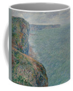 View To The Sea From The Cliffs Coffee Mug