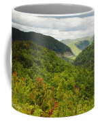 View To The Valley Coffee Mug