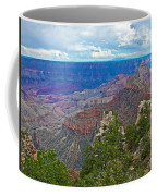 View Two From Walhalla Overlook On North Rim Of Grand Canyon-arizona Coffee Mug
