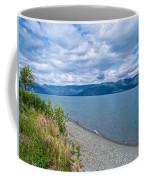 View Two Kluane Lake From Cottonwood Campground Near Destruction Bay-yk Coffee Mug