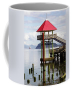 Viewing The Columbia River Coffee Mug by Pamela Patch
