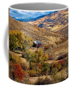 Viewing The Old Barn Coffee Mug by Robert Bales