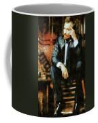 Viggo Posed In A Chair Coffee Mug