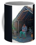 Viking Fisherman At L'anse Aux Meadows-nl  Coffee Mug