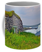 Viking House On Fishing  Point In Saint Anthony-nl Coffee Mug