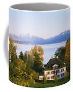 Villa At The Waterfront, Lake Zurich Coffee Mug