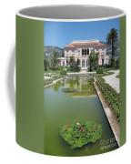 Villa Ephrussi De Rothschild With Reflection Coffee Mug