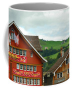 Hotel Santis And Hillside Of Appenzell Switzerland Coffee Mug