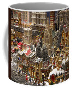 Village Christmas Scene Coffee Mug