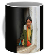 Village Girl India Coffee Mug