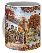 Village In Autumn Coffee Mug