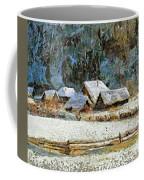Village In Winter Coffee Mug