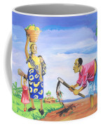 Village Life In Cameroon 01 Coffee Mug